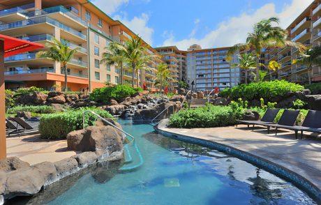 One of Three Honua Kai pools