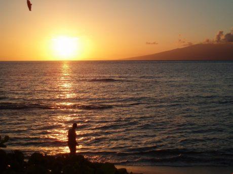 Sunset at Kaanapali Shores