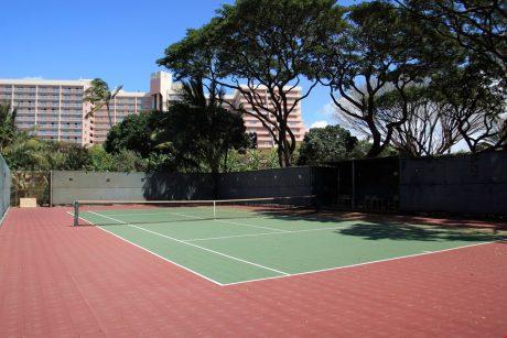 Mahana_tennis_courts