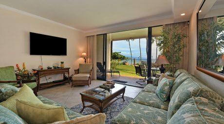 Kaanapali Shores 159 Living room