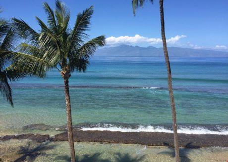 Coastline View from Master Bedroom Lanai