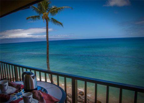Enjoy breakfast while taking in the breathtaking scenery