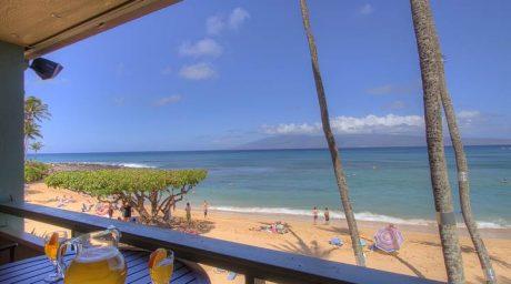Panoramic ocean view from the Lanai