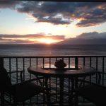 Amazing sunset views from the lanai