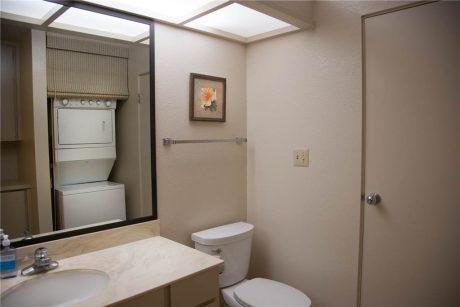 Guest bathroom is a half bathroom