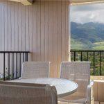 Lanai view of the Maui Mountains