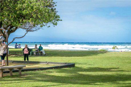Honokowai Beach Park offers a beauiful beach and park just .3 from Kaleialoha!