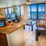 Tiled flooring, granite kitchen counter tops and elegant furnishings throughout