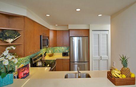Fully appliance'd kitchen