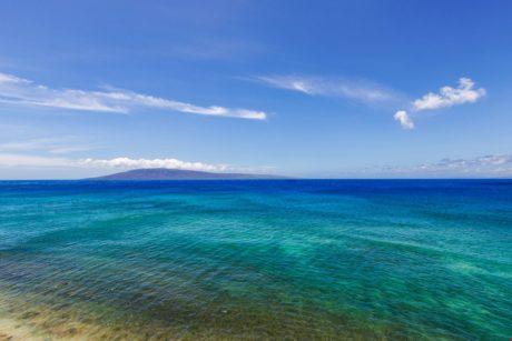 View looking at island of Lanai