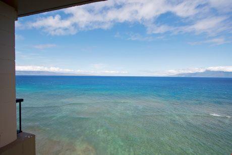 View from lanai of Lanai & Molikai
