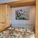 Murphy bed cabinet open