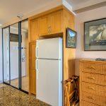 Refrigeratior, closet etc