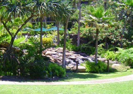 Kamaole Sands grounds