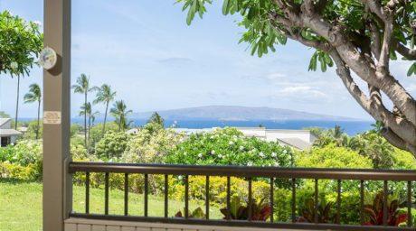 Ocean view from Wailea Ekolu 501