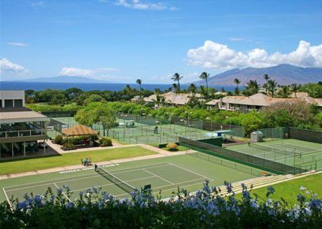 Wailea Tennis Club Across The Street From Wailea Ekolu