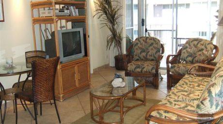Living area w/ sofa sleeper