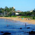 Kamaole Beach 2 just across the street from Kihei Akahi