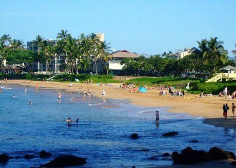 Kamaole Beach #2 just across the street from Kihei Akahi