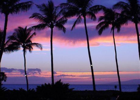 Beautiful Maui sunset (not taken from unit #1-418)