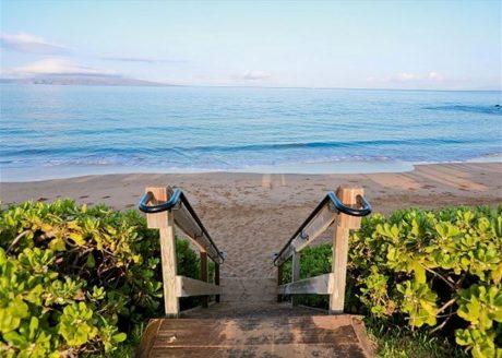 Beautiful Ulua Beach Just Down From Wailea Ekolu