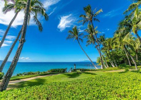 Wailea Oceanfront - Beach Path