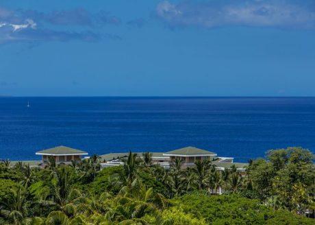 Ocean view from Wailea Ekolu #503