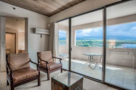 Living Area Facing Lanai