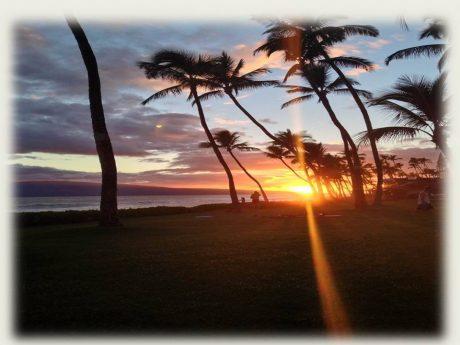 Puamana Sunset
