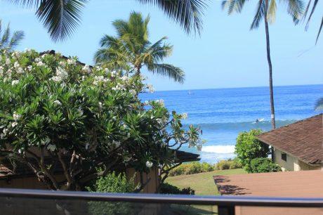 Upstairs Lanai View
