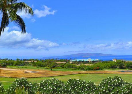 Panoramic Ocean View from Wailea Ekolu #310