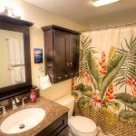 Guest Bathroom - Enjoy a shower or soak in the tub in this beautiful guest bathroom.