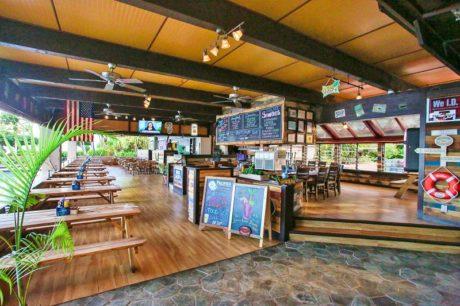 The Beach House Restaurant on property