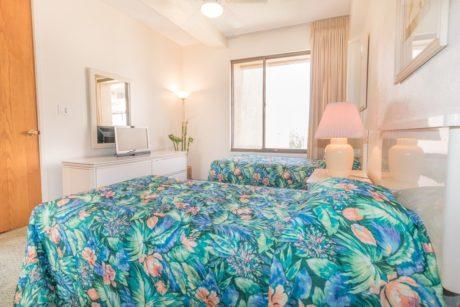 Sands of Kahana 275 - Second Bedroom - Twin Beds