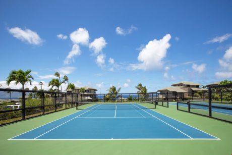 Kapalua Bay Villa Tennis Courts
