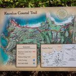Kapalua Coastal Trail Map