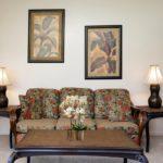 Kapalua Ridge Villa 1222 - Couch in living room