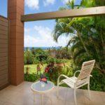 Kapalua Ridge Villa 414 - Guest Bedroom Lanai