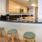 Sands of Kahana 272- Kitchen w/ Bar Stools