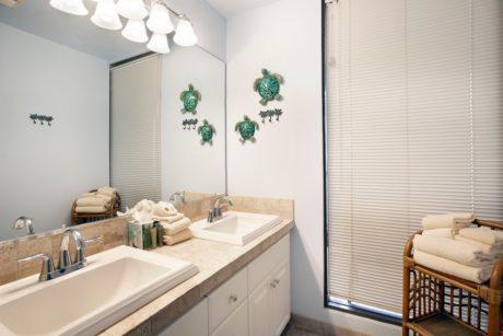 Sands of Kahana 272- Guest Bathroom Vanity Sink