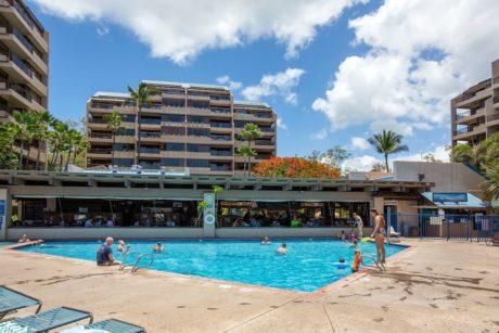 Sands of Kahana 272- Main Pool on property