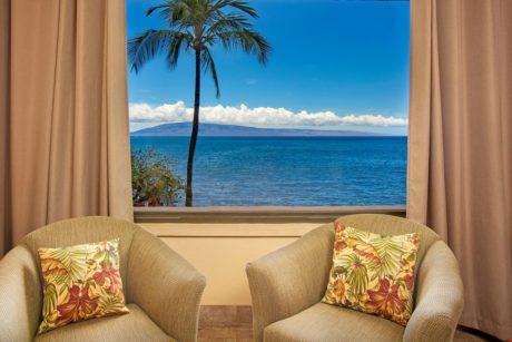 Sands of Kahana 315 - Living Room View