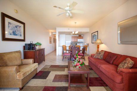 Sands of Kahana 318 Living Room
