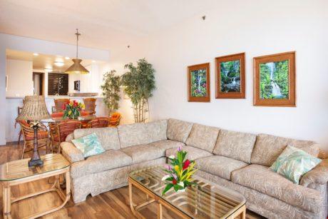 Sands of Kahana 373 Living Room 3