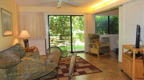 Dining Room, Living Room with Sofa Sleeper & Lanai