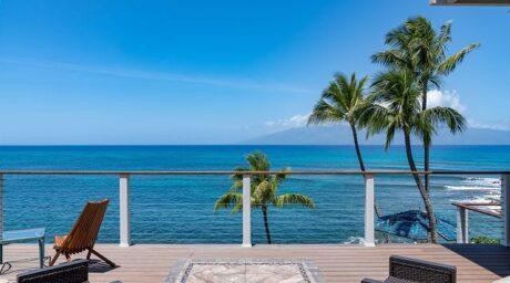 Spectacular Oceanfront Home – Honu Hale